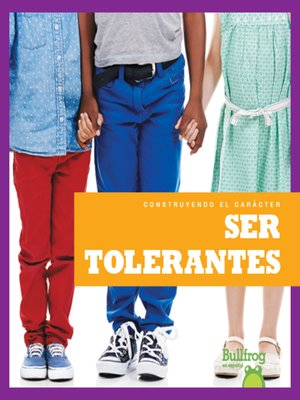 cover image of Ser tolerantes (Being Tolerant)