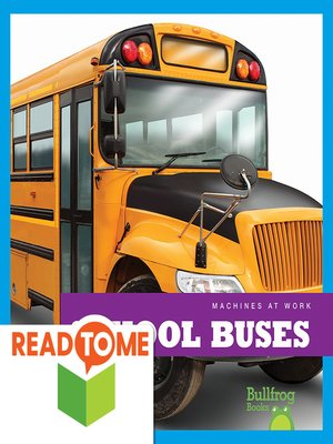cover image of School Buses (Readalong Edition)