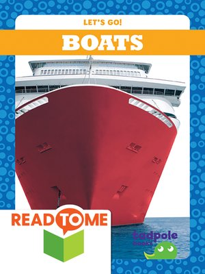 cover image of Boats (Readalong Edition)