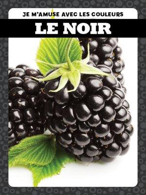 cover image of Le noir (Black)