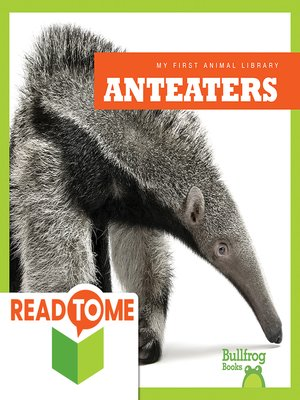 cover image of Anteaters (Readalong Edition)