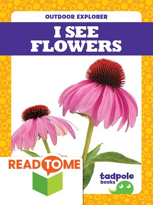 cover image of I See Flowers