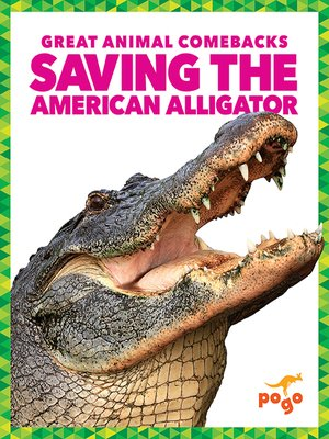 cover image of Saving the American Alligator