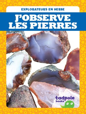 cover image of J'observe les pierres (I See Rocks)
