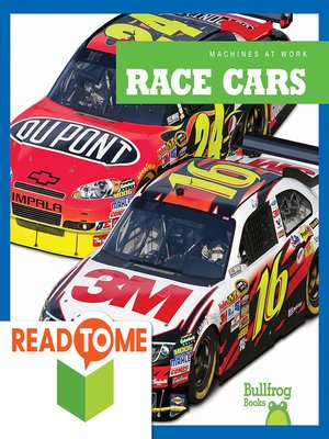 cover image of Race Cars (Readalong Edition)