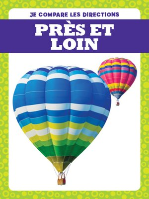 cover image of Près et loin (Near and Far)