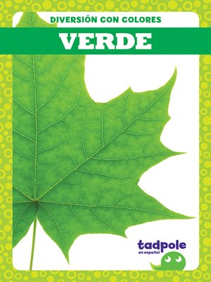 cover image of Verde (Green)