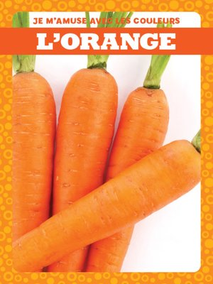 cover image of L'orange (Orange)