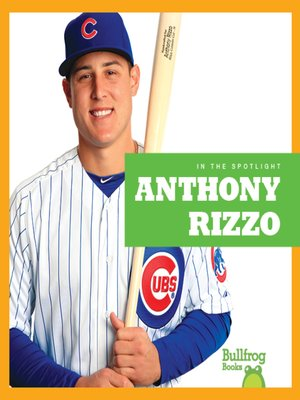 cover image of Anthony Rizzo