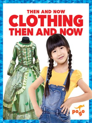 cover image of Clothing Then and Now