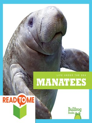 cover image of Manatees (Readalong Edition)