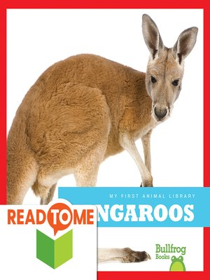 cover image of Kangaroos (Readalong Edition)