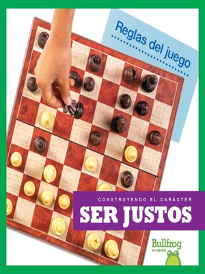cover image of Ser justos (Being Fair)