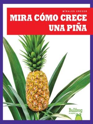 cover image of Mira cómo crece una piña (Watch a Pineapple Grow)