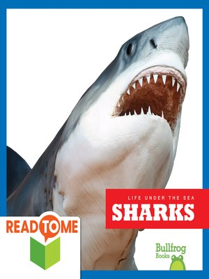 cover image of Sharks (Readalong Edition)