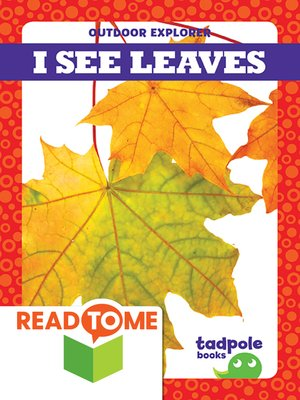 cover image of I See Leaves