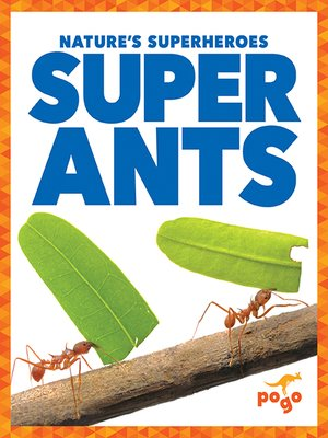 cover image of Super Ants