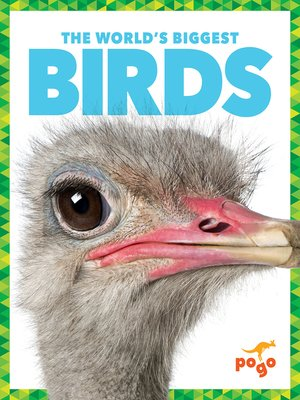 cover image of The World's Biggest Birds