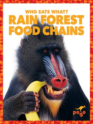 cover image of Rain Forest Food Chains