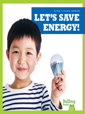 cover image of Let's Save Energy!