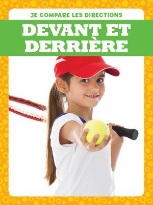 cover image of Devant et derrière (Behind and In Front)
