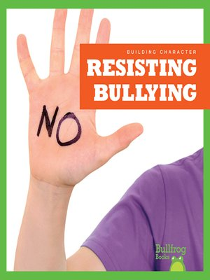 cover image of Resisting Bullying
