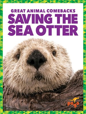 cover image of Saving the Sea Otter