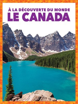 cover image of Le Canada (Canada)