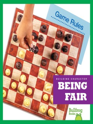 cover image of Being Fair