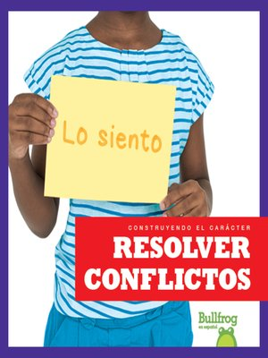 cover image of Resolver conflictos (Resolving Conflict)