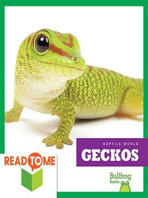 cover image of Geckos (Readalong Edition)