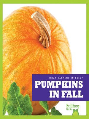 cover image of Pumpkins in Fall
