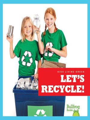 cover image of Let's Recycle!
