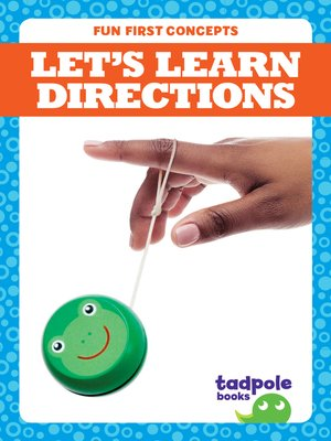 cover image of Let's Learn Directions
