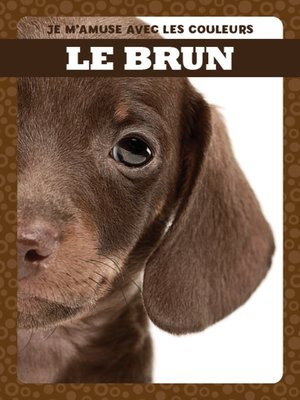 cover image of Le brun (Brown)