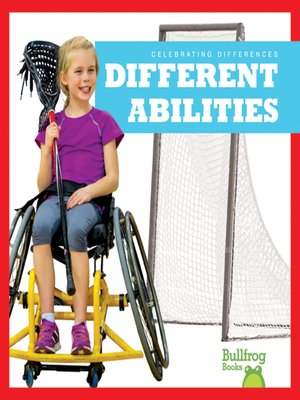 cover image of Different Abilities