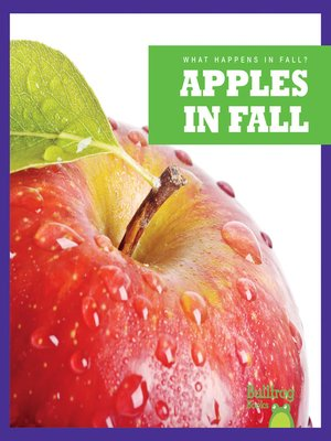 cover image of Apples in Fall