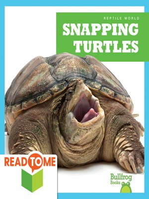 cover image of Snapping Turtles (Readalong Edition)