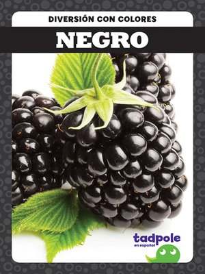 cover image of Negro (Black)