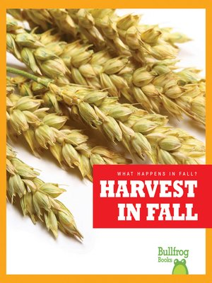 cover image of Harvest in Fall