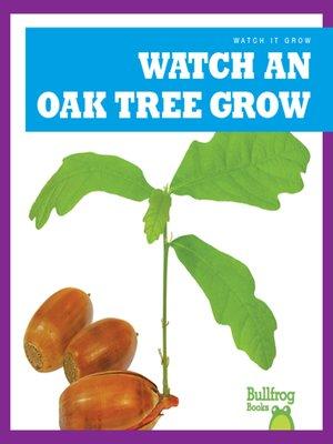 cover image of Watch an Oak Tree Grow