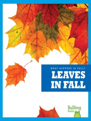 cover image of Leaves in Fall