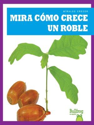 cover image of Mira cómo crece un roble (Watch an Oak Tree Grow)