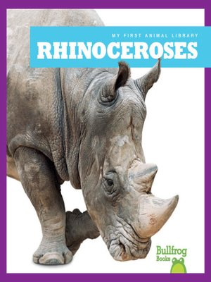cover image of Rhinoceroses