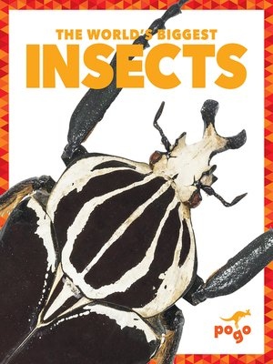 cover image of The World's Biggest Insects