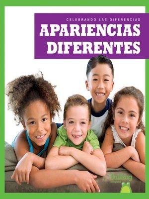 cover image of Apariencias diferentes (Different Appearances)