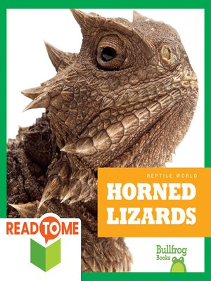 cover image of Horned Lizards (Readalong Edition)