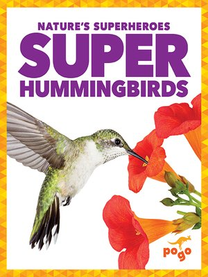 cover image of Super Hummingbirds
