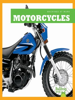 cover image of Motorcycles