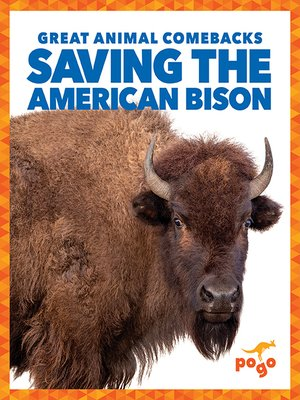 cover image of Saving the American Bison